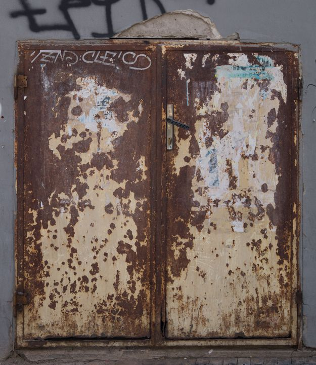Texture #Rust #Door