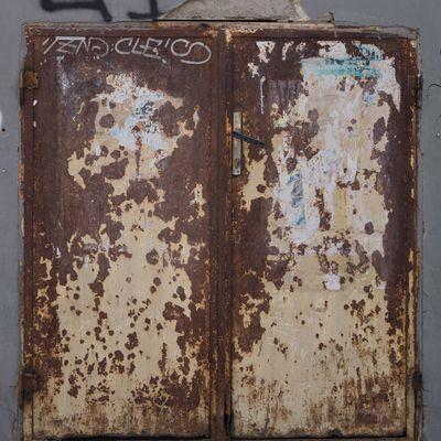 CG Texture - #Rust #Door  /